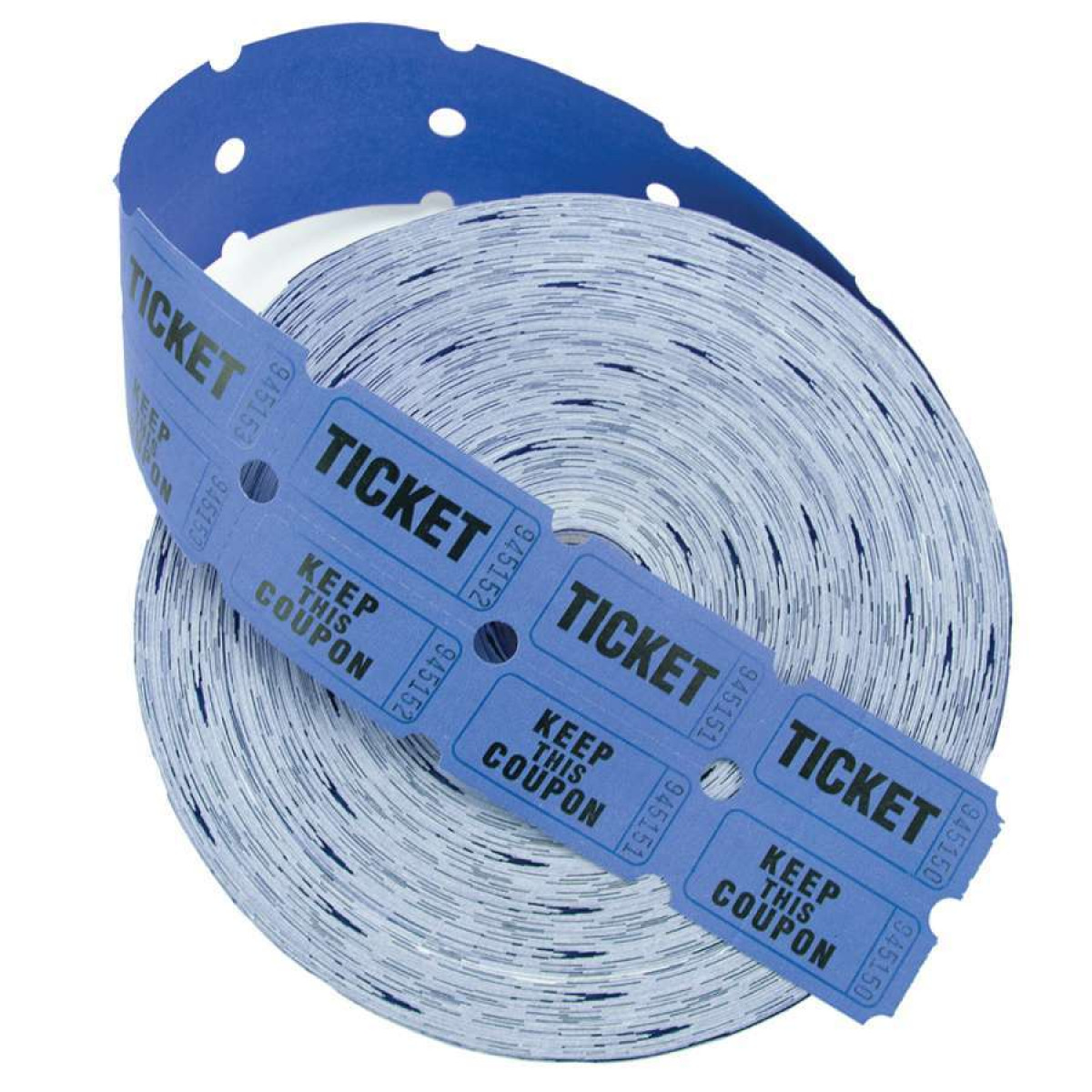 2 part raffle tickets