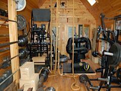 Kim Wood's gym