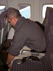 Seated Flexion. Photo via NISMAT.