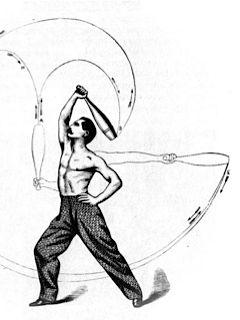 Indian Club swinging