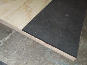 Add mat strips