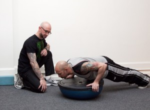 One-Armed Push-up