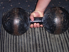 Inch Replica Dumbbell