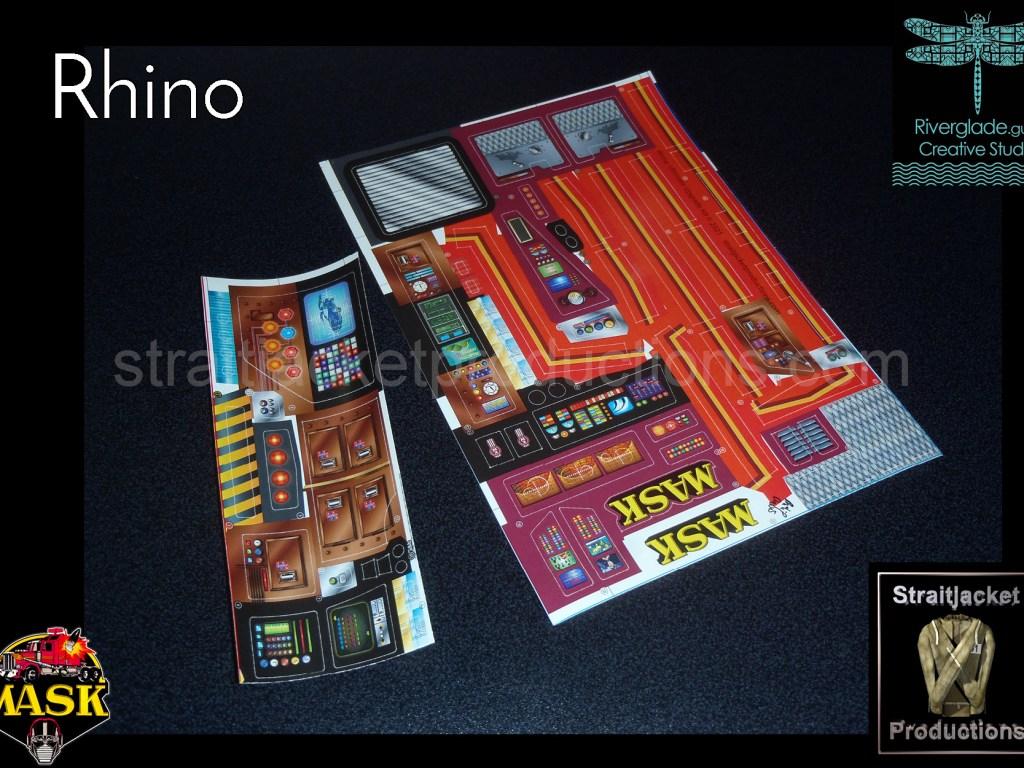 MASK M.A.S.K. Rhino Ultimate Upgrade Kit