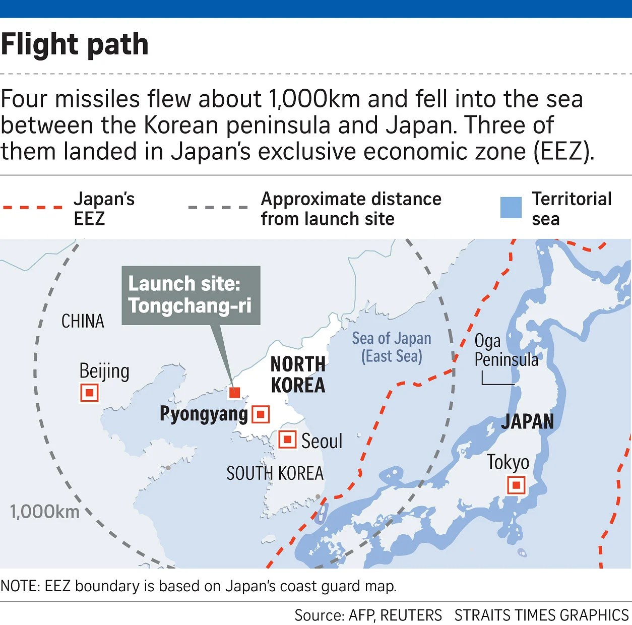 North Korea Missile Launch Was Training Exercise For Strike On US - Us bases in japan map