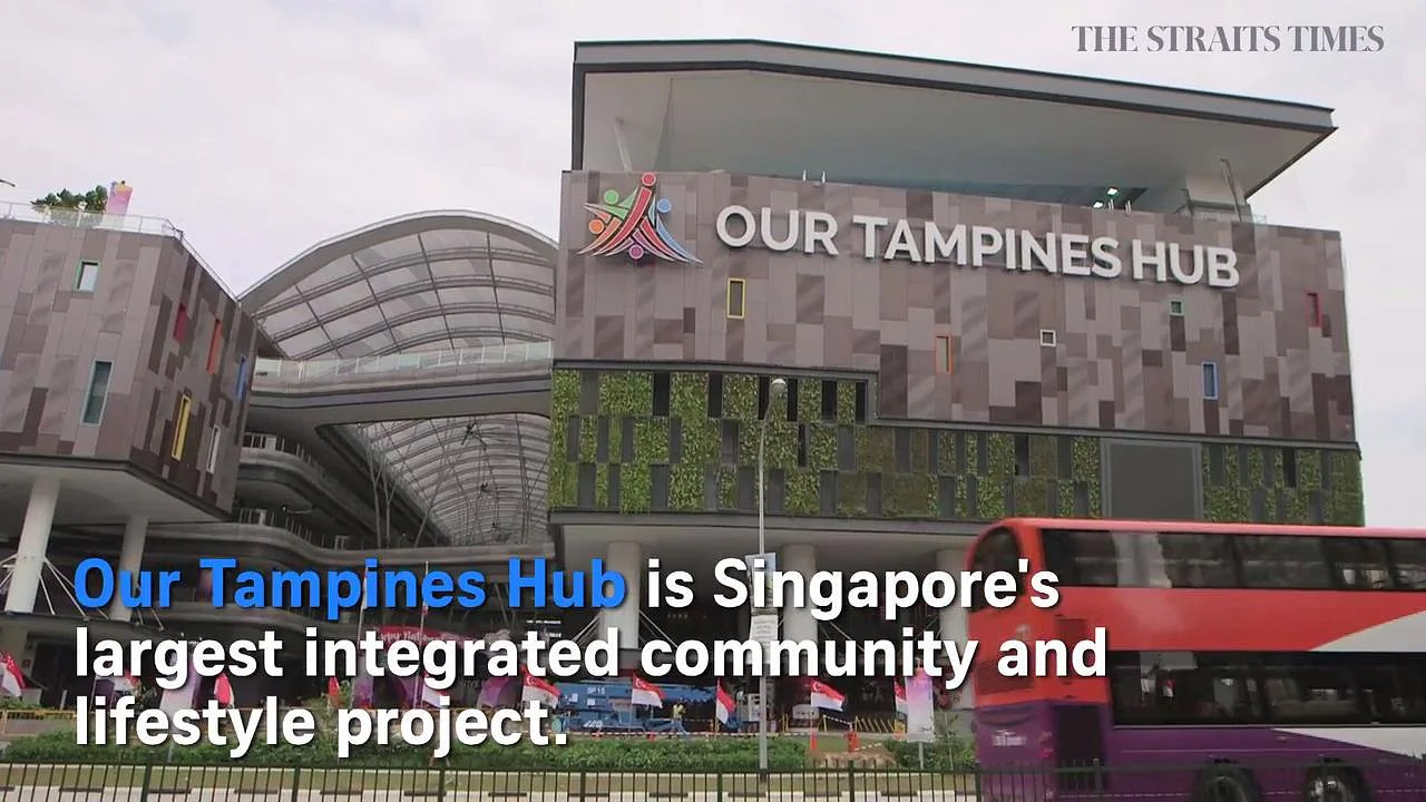 PM Lee opens Our Tampines Hub, Singapore's first integrated community and lifestyle hub, Singapore News & Top Stories - The Straits Times