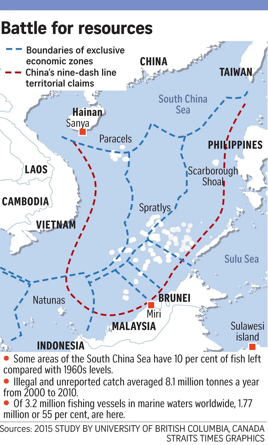 South China Sea - Part One: Fish Wars. Asia News & Top Stories - The Straits Times
