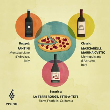 The best wine for pizza?