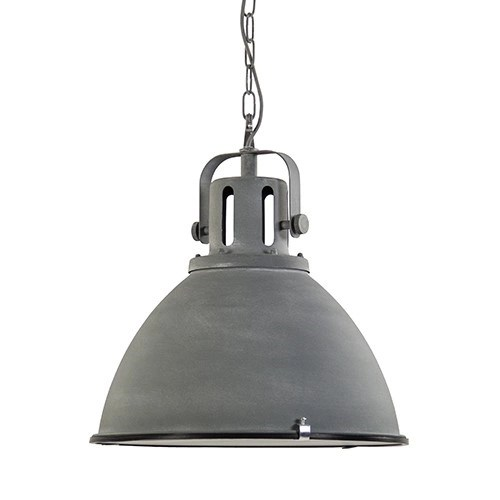 Stoere industrile hanglamp betonlook Straluma