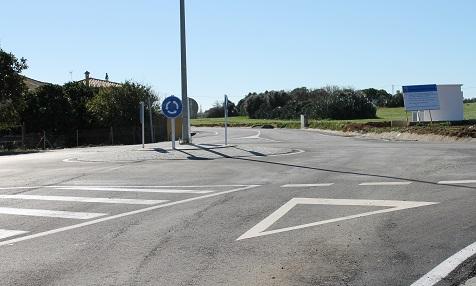 Kreisverkehr Lobita-Canarias