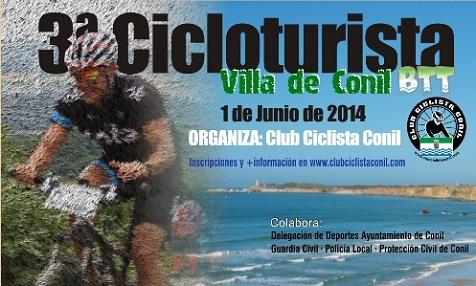 III Marcha Cicloturista BTT Villa de Conil