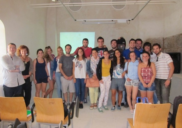 Schüler Universität Sevilla