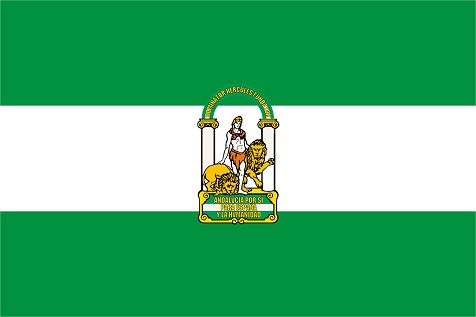 Andalusien-Flagge