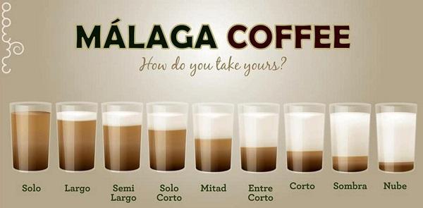 Andalusien Kaffee