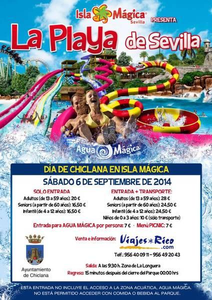 Isla Magica Dia de Chiclana