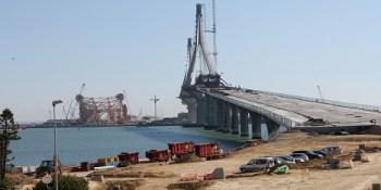 Brücke in Cadiz