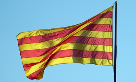 Katalonien Flagge