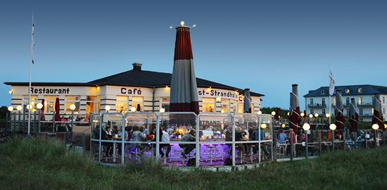 Strandhalle Juist  Ihr Restaurant auf der FerienInsel in