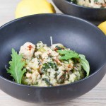 Lemon Chicken and Spinach Risotto