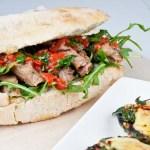 Steak Sarnie & Cheesy Mushrooms - Jamie Oliver
