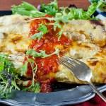 Chicken, broccoli, cheese crepes