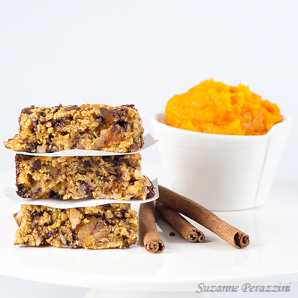 Pumpkin, Almond, Chocolate Granola Bars – fat and gluten free