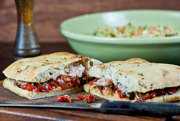 Stuffed focaccia jamie oliver 30 minute meal forumfinder Image collections