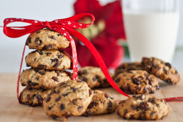 Choc Chip, raisin Cookies 600 post