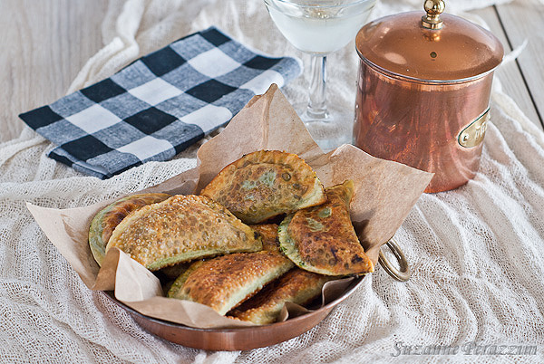 Agnottoli with Cream Cheese & Spinach