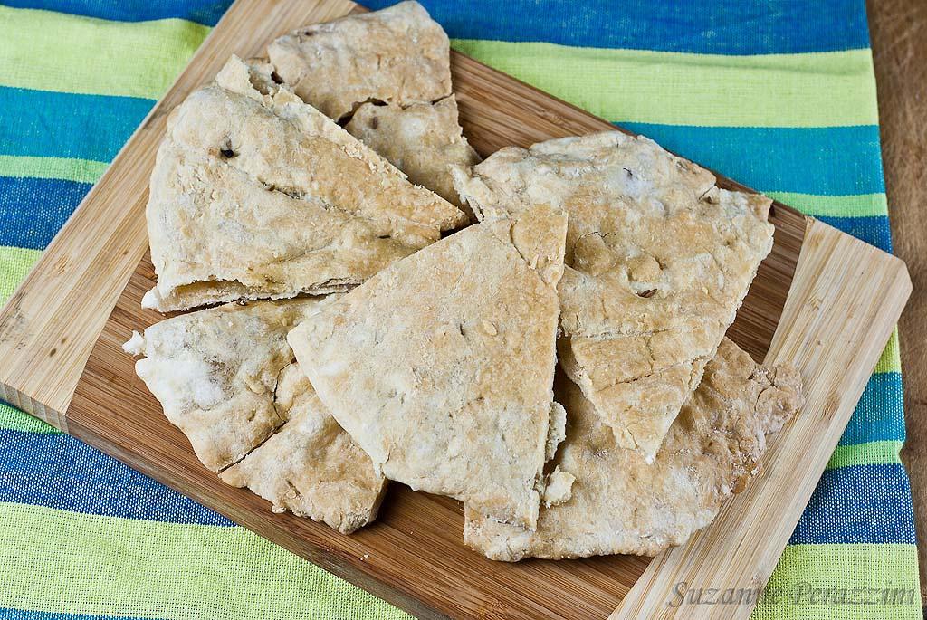 Pita Bread and Mexican Spread - grain-free & fructose intolerant friendly