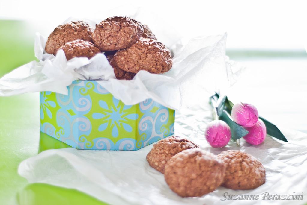 Coconut & Oats Cookies -gluten-free & low FODMAP