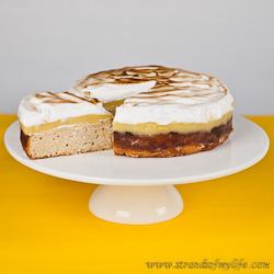 Egg Free Lemon Polenta Cake