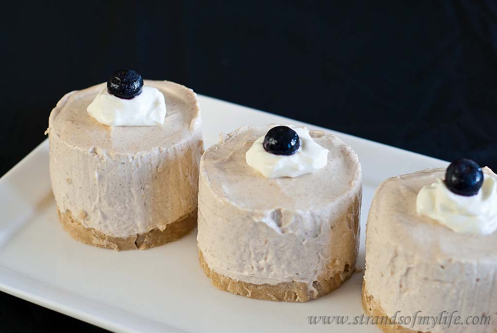 Banana Sour Cream Cheesecake - gluten-free and low FODMAP