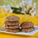 Coconut Banana cookies - gluten free & low FODMAP