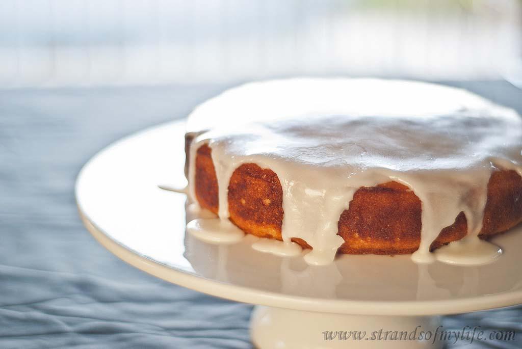 Lemon Potato Cake -gluten-free & low FODMAP