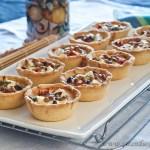 Feta & Sundried Tomato Tarts - gluten-free and low FODMAP