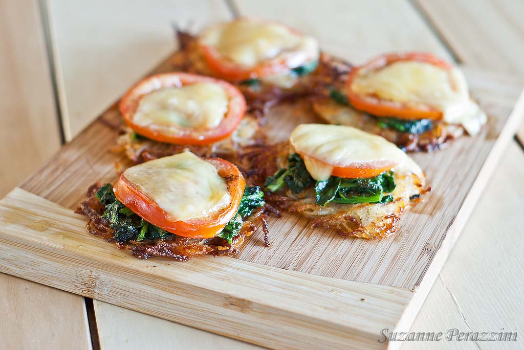 Rosti Potato Pizza - gluten-free and low FODMAP