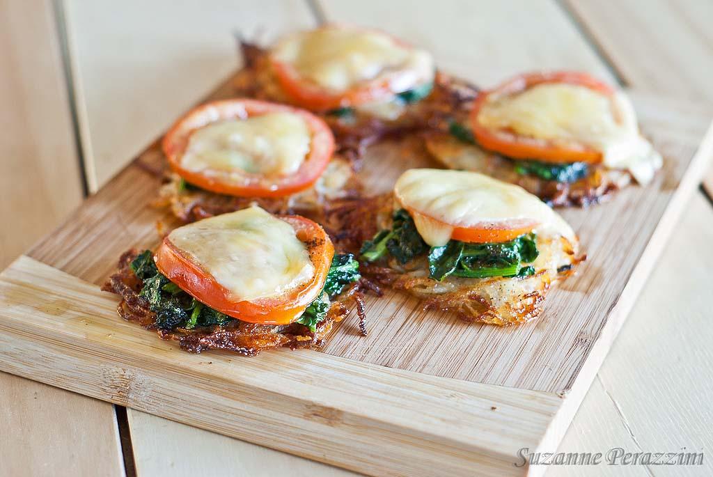 Rosti Potato Pizza - gluten-free and low FODMAP