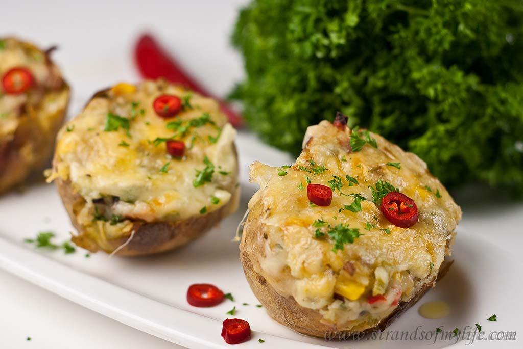 Twice- Baked stuffed Potatoes – low FODMAP & gluten-free recipe