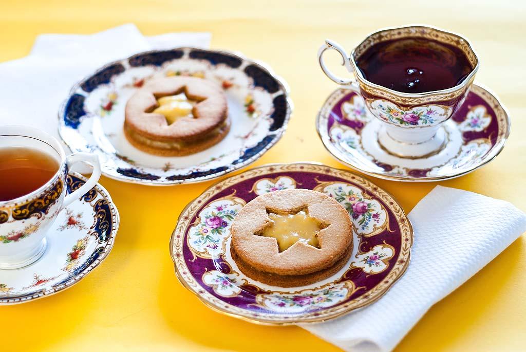 Lemon Curd Cookies - gluten-free recipe and low FODMAP