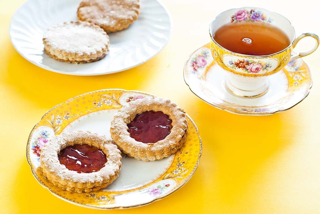 Jam Cookies - Gluten-Free Recipe and low FODMAP
