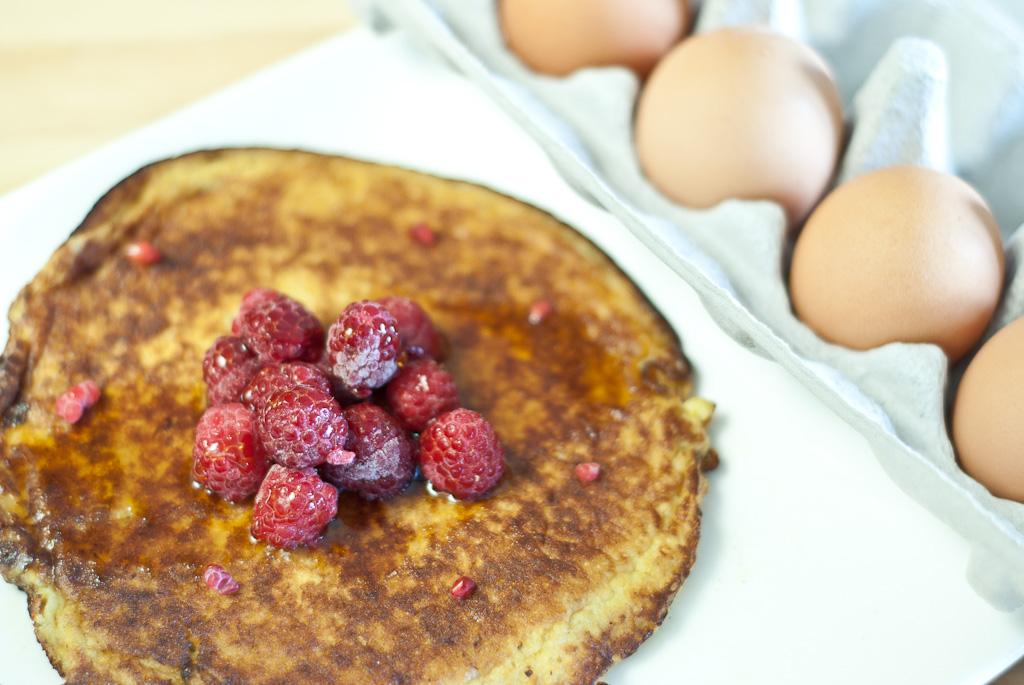 Banana pancakes – a low FODMAP breakfast or dessert