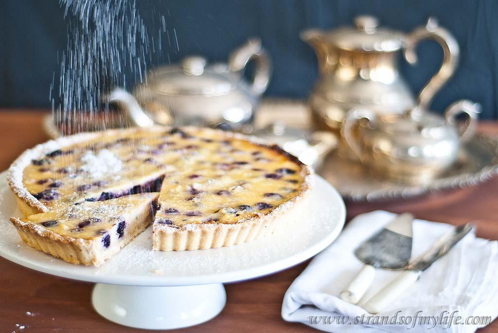 Blueberry Sour Cream Tart