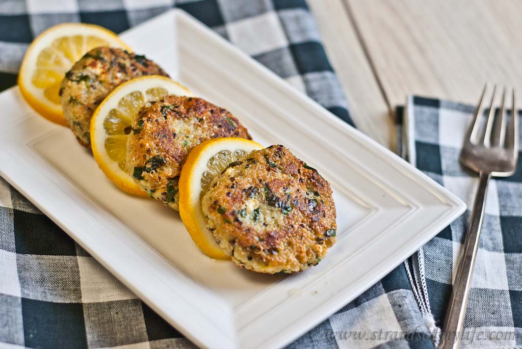 Feta Spinach patties - low Fodmap