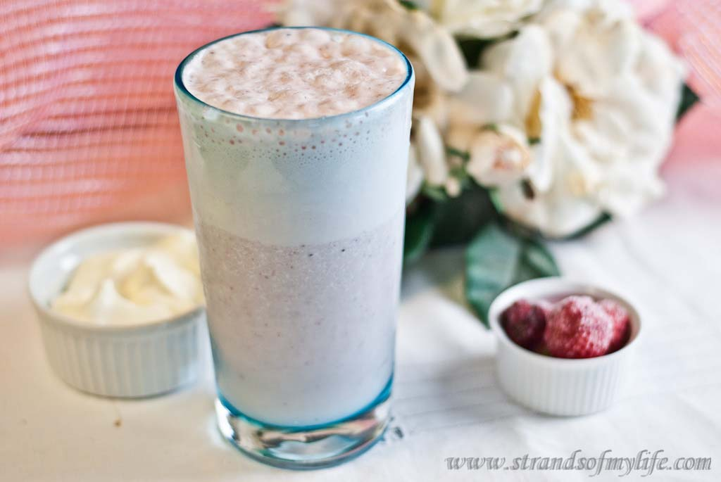 Strawberry Banana Smoothie - low Fodmap