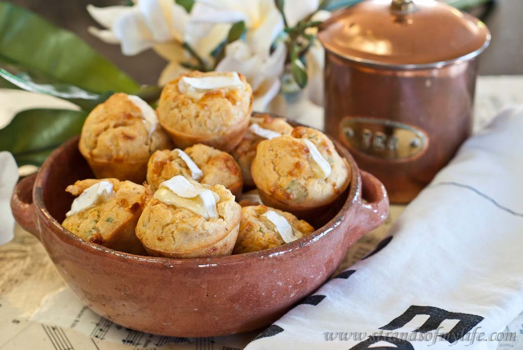Camembert stuffed mini muffins -low Fodmap & gluten-free