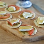 Tomato pesto nibbles - low Fodmap and gluten-free