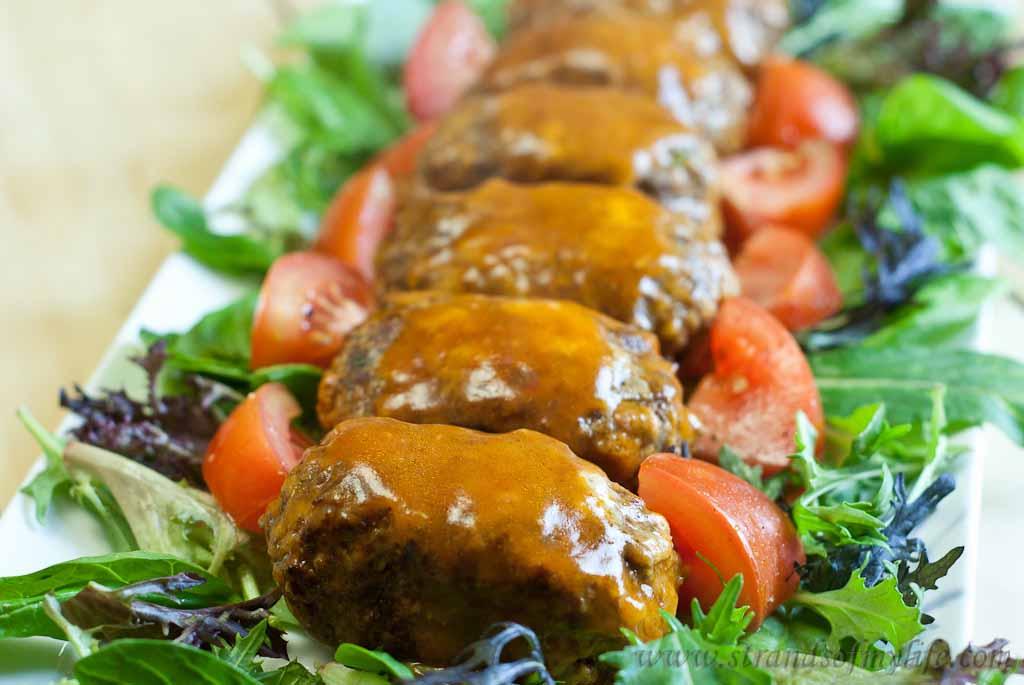 Mini Meat Loaves -low Fodmap & Gluten-free
