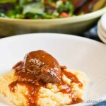 Veal roulades – low Fodmap & gluten-free