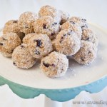 Peanut Butter & Cranberry Truffles – low Fodmap